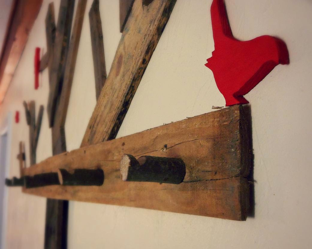 Sawdust and hops past projects for Coat hanger art projects