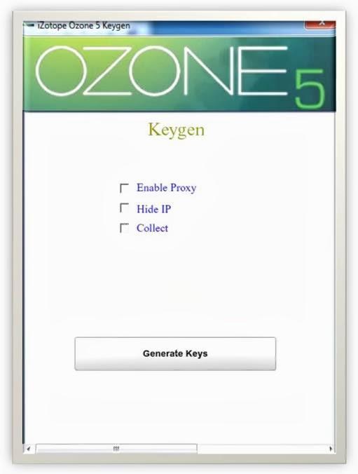 Izotope Ozone Serial