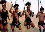 नागालैंड में उत्सव का रंग