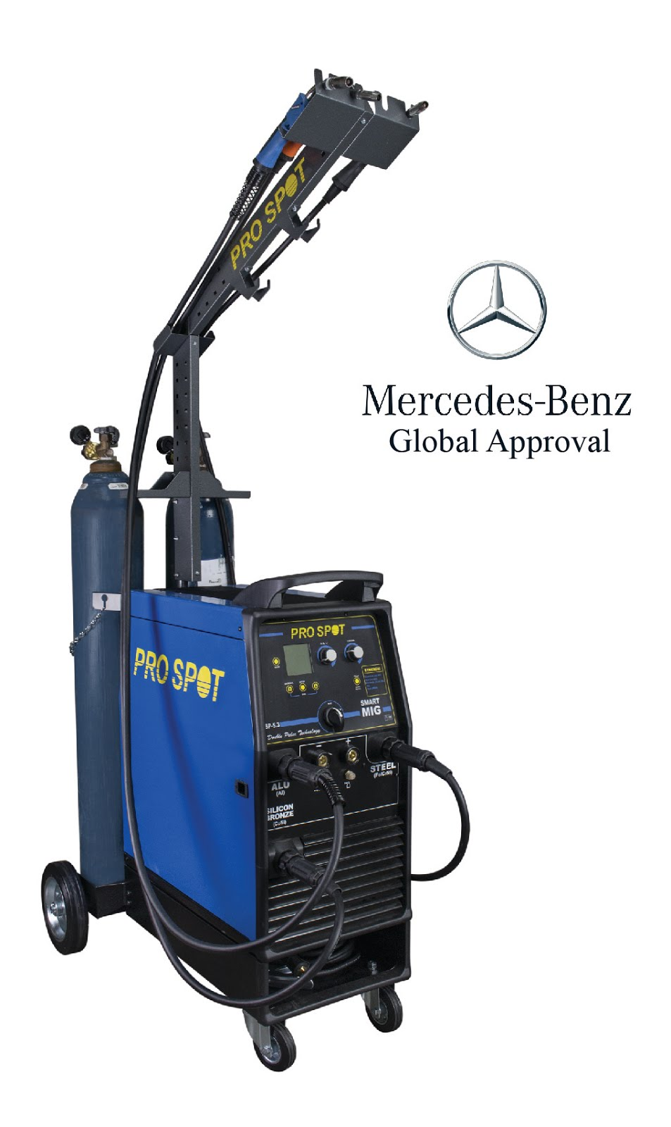 Mercedes Benz Global Approval on SP-5.3 Double Pulse MIG