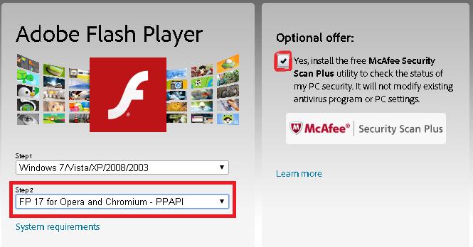 adobe flash player free download for windows 7 64 bit latest