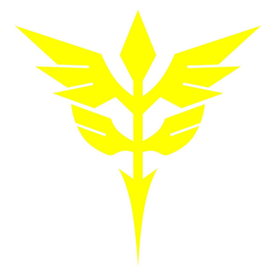Full Frontal Gundam Unicorn Zeon_Logo9