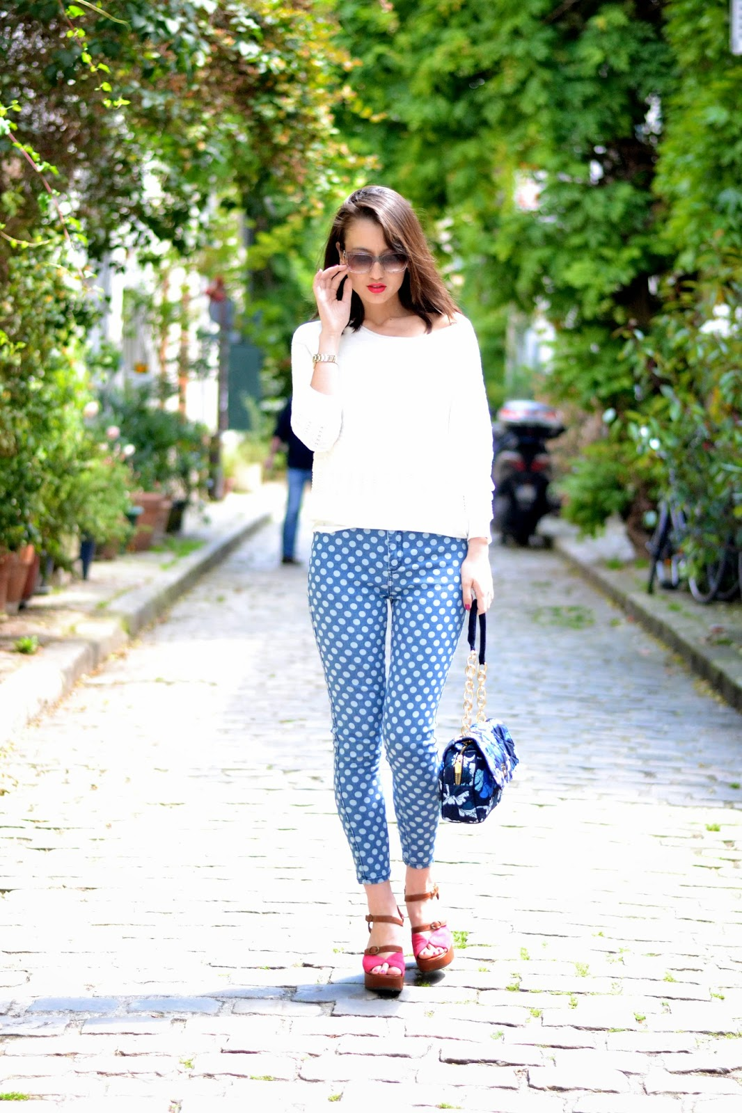 Fashion blogger Paris