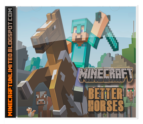 Better Horses Mod Minecraft