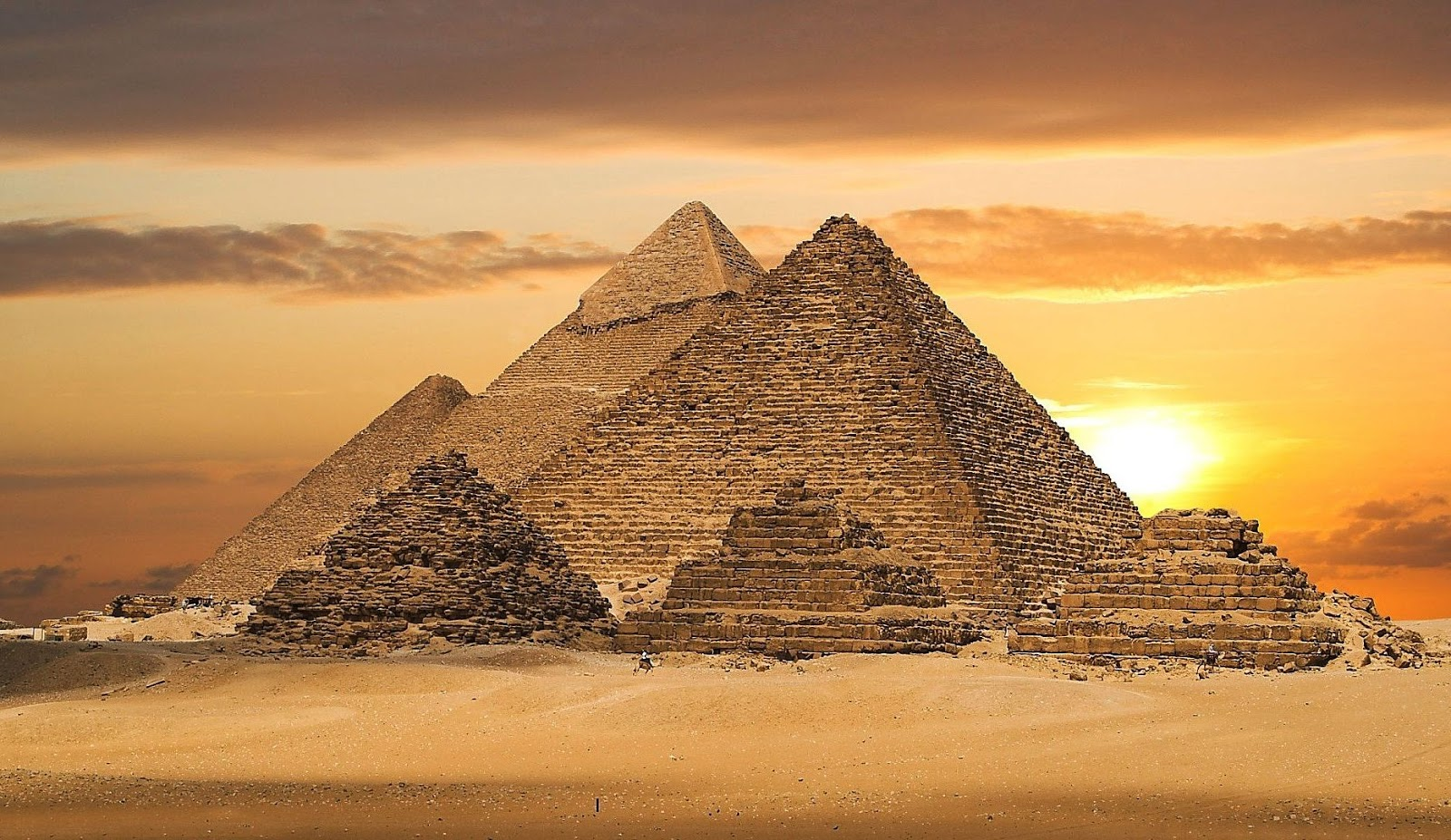 the great pyramid of giza Other articles where great pyramid is discussed: pyramids of giza: called the great pyramid, it is the largest of the three, the length of each side at the base.