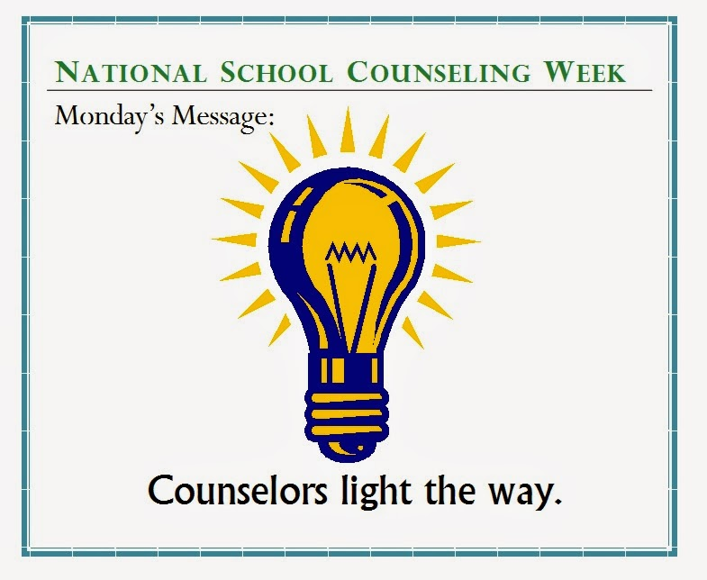 ... Middle School Counselor: Happy National School Counseling Week 2014