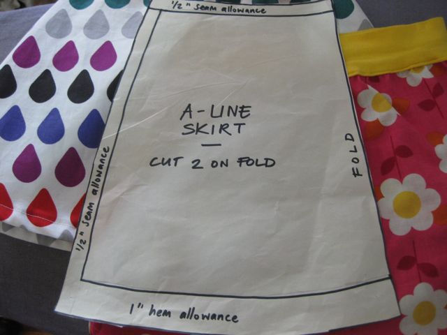 thirtynine: The great A-line skirt experiment