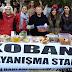 Tüm kıtalardan gönüllüler Kobanê için birleşti