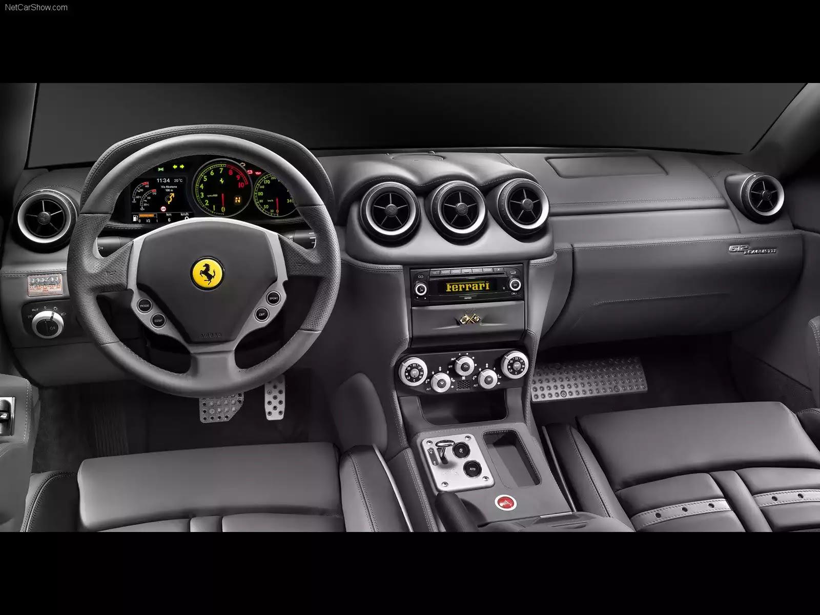 Hình ảnh siêu xe Ferrari 612 Scaglietti 2006 & nội ngoại thất