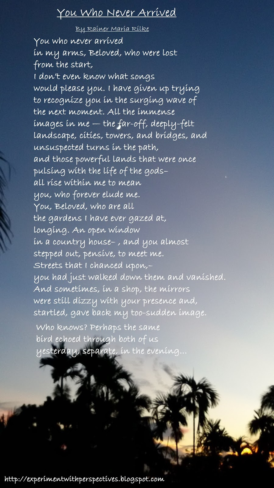 Can someone please help me analyze this poem?