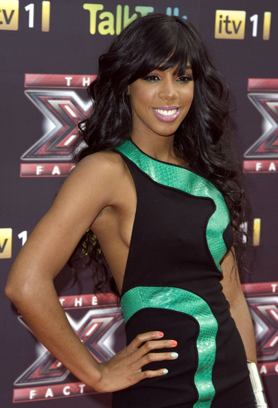 Kelly Rowland @ X-Factor Press Launch