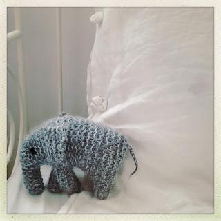 doudou éléphant modele gratuit Filature du Valgaudemar