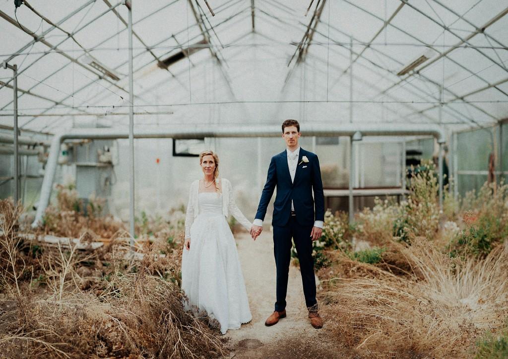 Bröllopsfotografering i Vassbo växthus | Niklas Andersen