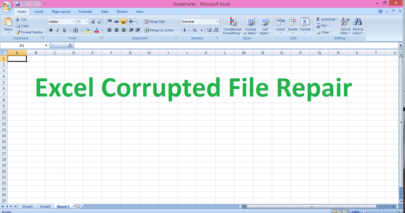 Excel Repair Software - Recover Corrupted Excel