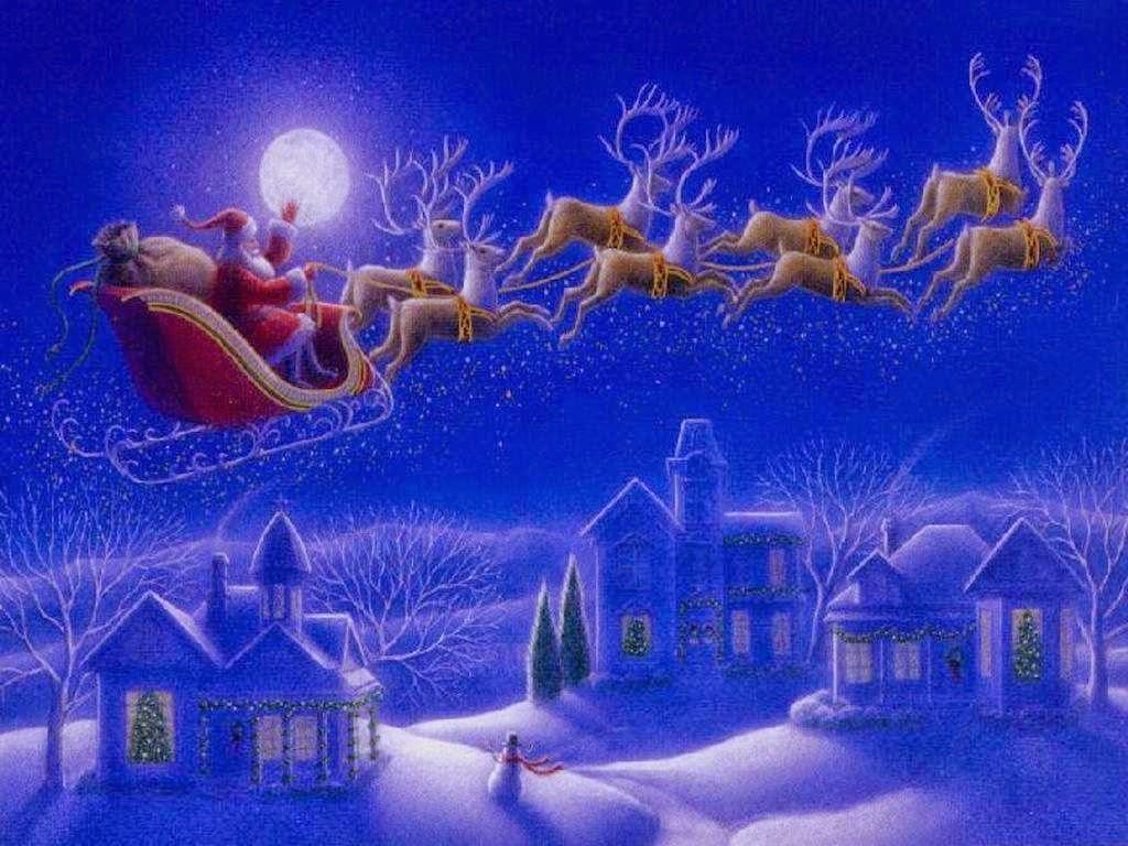 free animated christmas desktop wallpaper