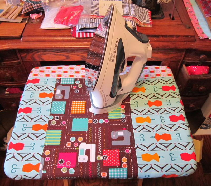 Missy's Homemaking Adventures: Ironing Board Cover : quilted ironing board cover - Adamdwight.com