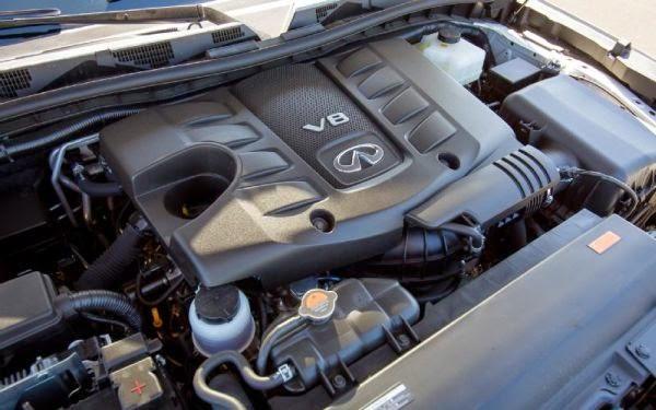 2016 Infiniti Q70 engine