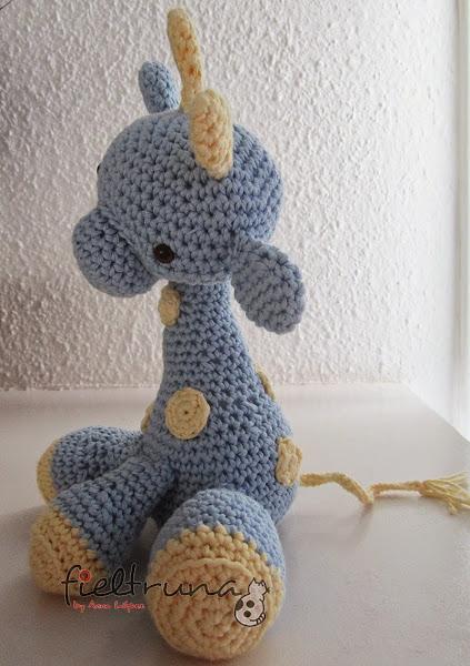 Amigurumi Xxl Patron : jirafa amigurumi Aprender manualidades es facilisimo.com