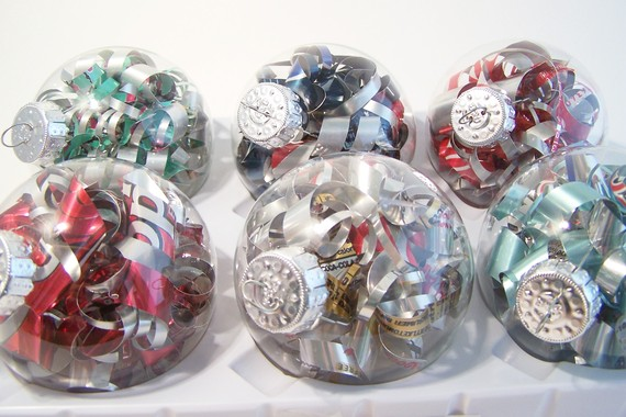 recycled christmas ornaments - Recycled Christmas Ornaments