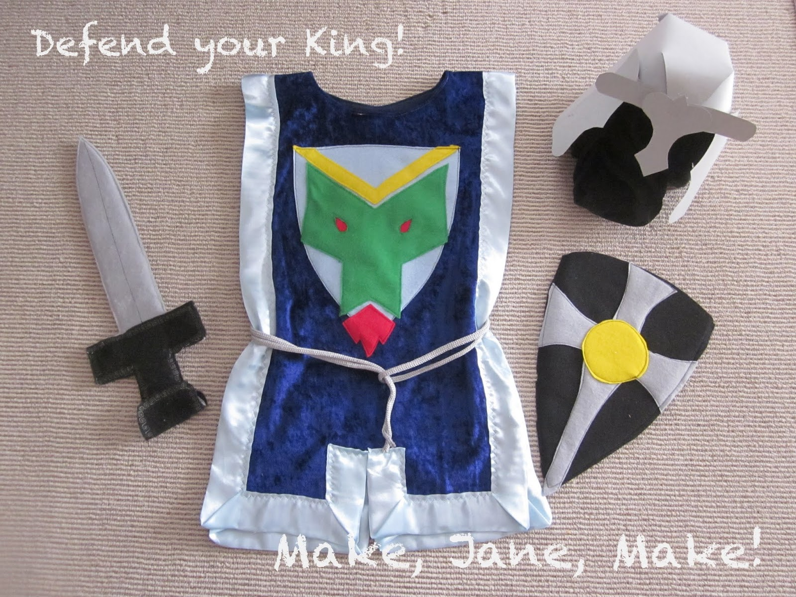How to make a knights costume with your own hands