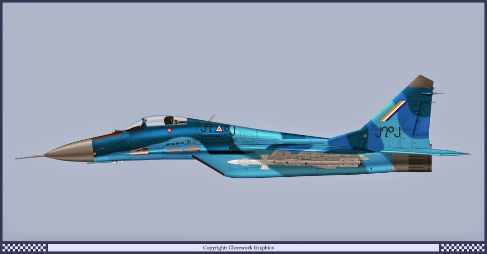 Mig-29 of Myanmar Air force