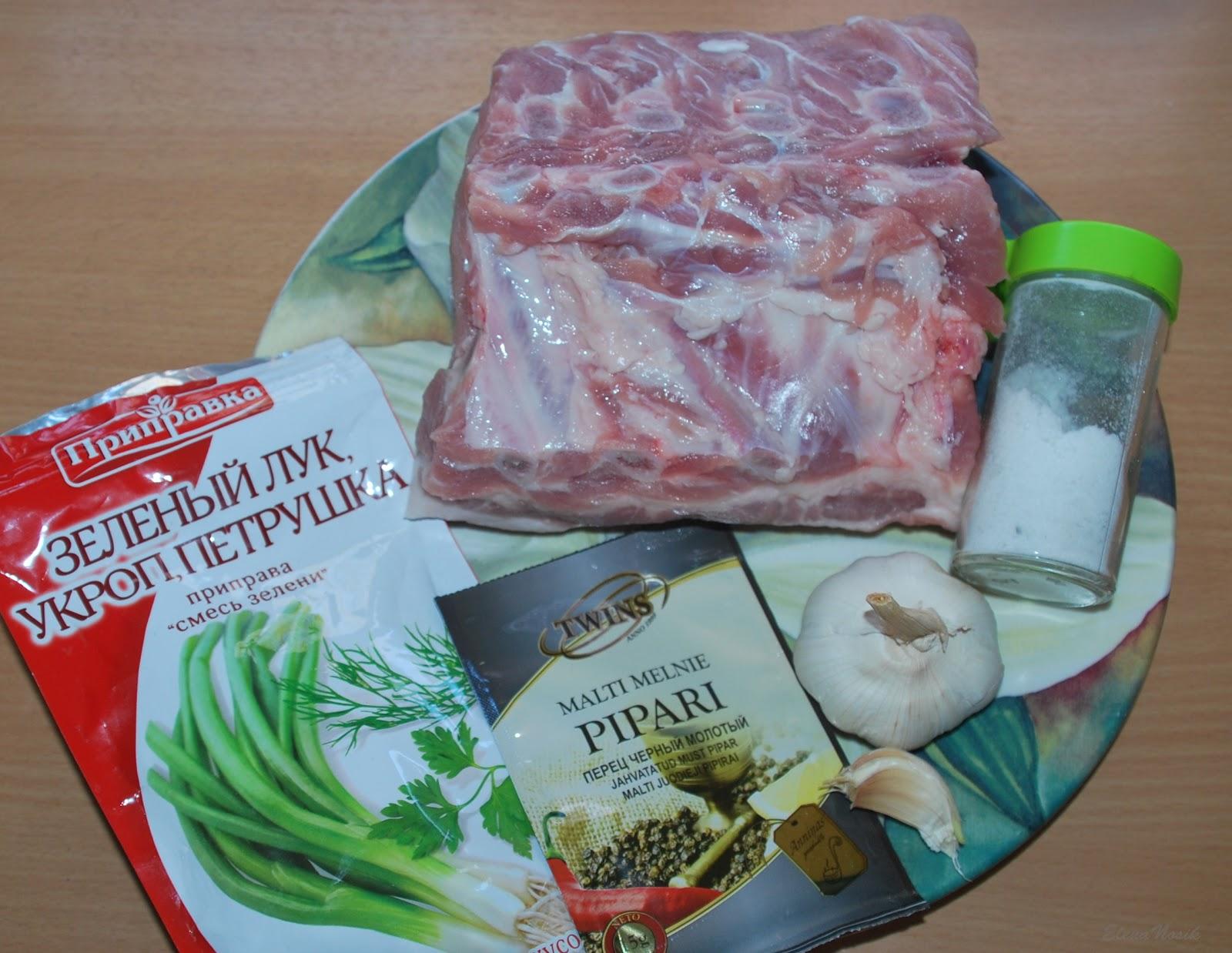 карбонад свиной рецепт приготовления в рукаве