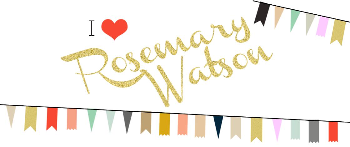 I Love Rosemary Watson