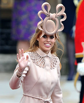 Princess Beatrice with hideous deformity