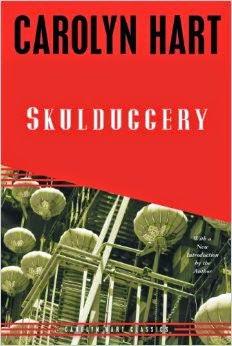Skulduggery by Carolyn Hart was okay, but not as much fun as the other vintage Harts.