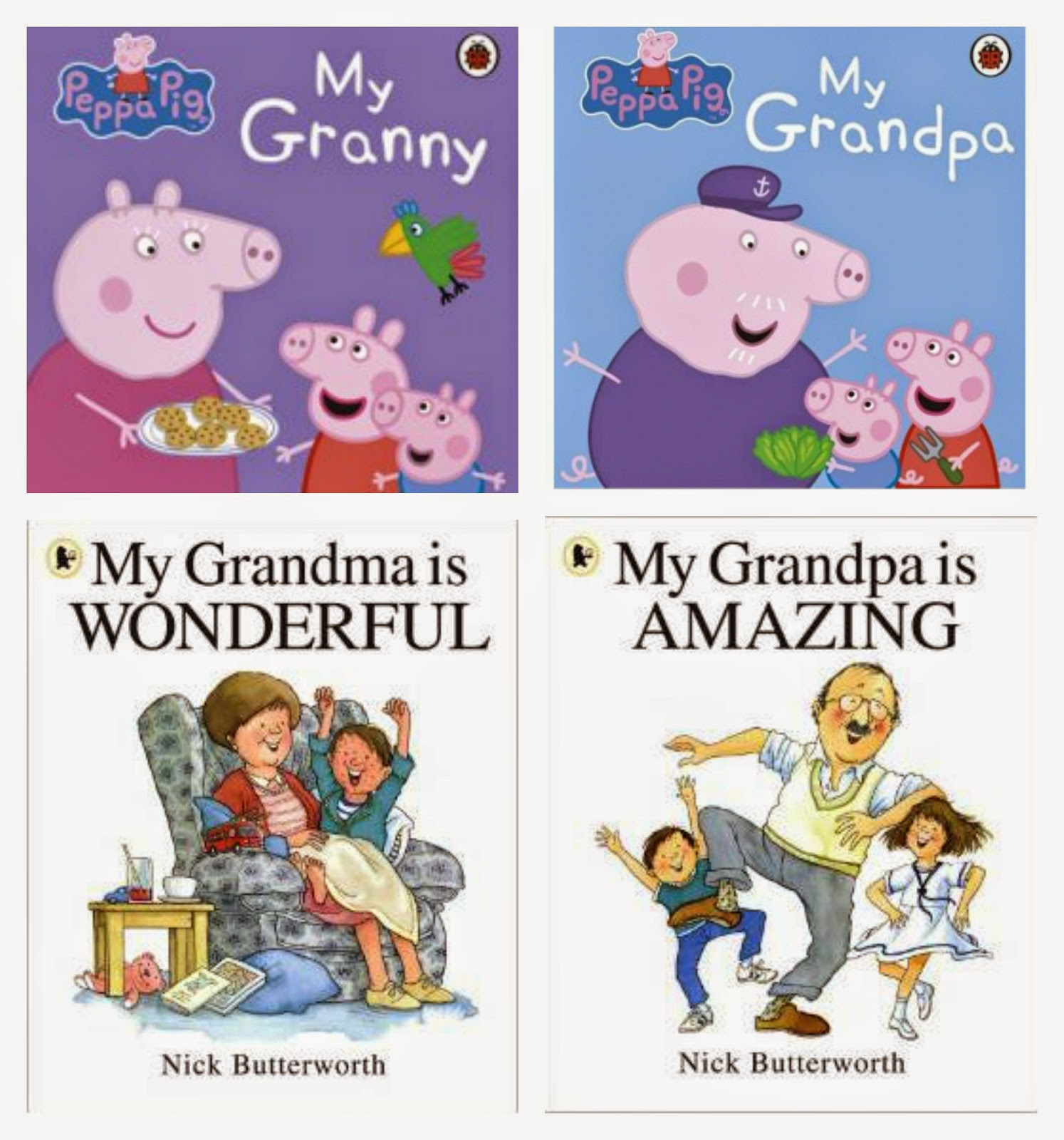 Celebrate Grandparents day with these cute reads..|amazon | books | book club |sunday night bookclub|mamasVIb | blogger | peppa pig | nick butter worth | books | grandma | grandpa | grandparents | national grandparents day | books for many | grandad | nan | grandpa | books for parents | gifts ideas | mamasvIb