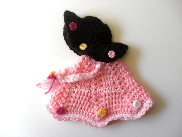 Crochet Pot Holder Little Doll Pattern ~ Crochet Colorful