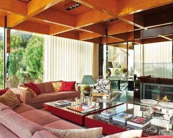 Rumah Modern di Portugal, interior desain