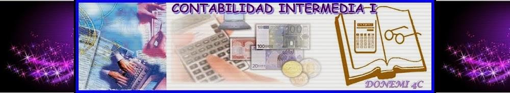 CONTABILIDAD INTERMEDIA I