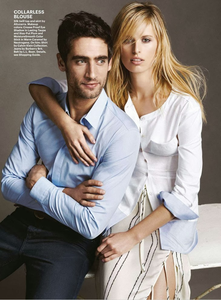 Karolina Kurkova HQ Pictures Allure Magazine Photoshoot March 2014
