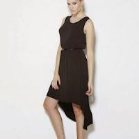 Rochie lunga asimetrica pentru femei