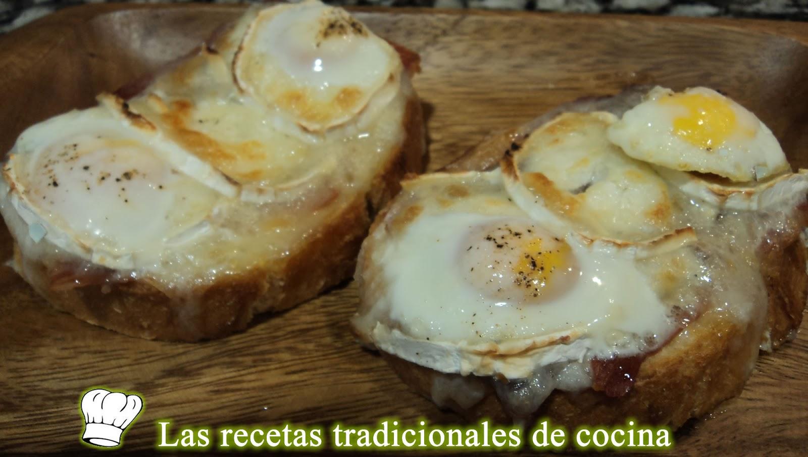 Tostada con jam n queso de cabra y huevos de codorniz - Queso de cabra y colesterol ...
