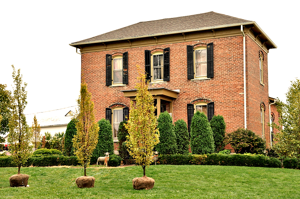 The Brick Farmhouse