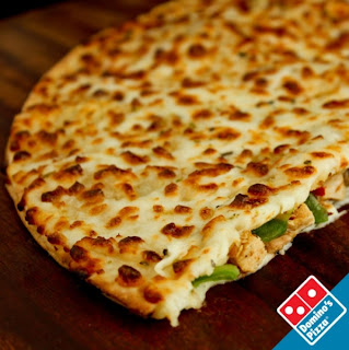 ... Pizza , it's only fitting that Domino's offers a Quesadilla Pizza