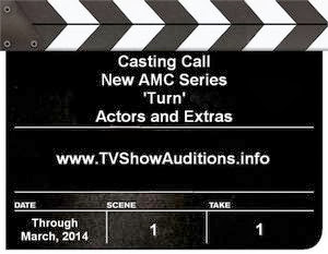 Casting calls for AMC series Turn about Revolutionary War spies