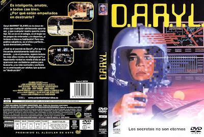 Cover dvd, carátula: D.A.R.Y.L. (DARYL) | 1985