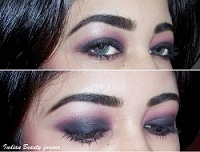 Smokey Plum Eye Makeup
