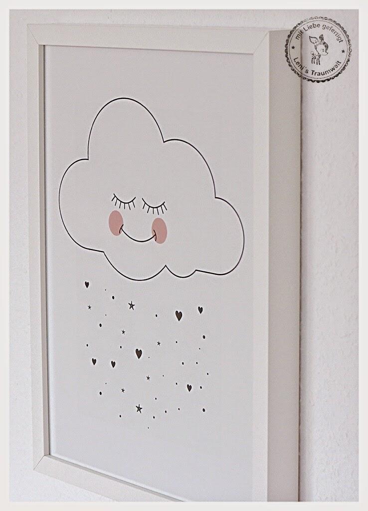 Leni s traumwelt im wolkenfieber eine diy holz wolke for Bilder kinderzimmer