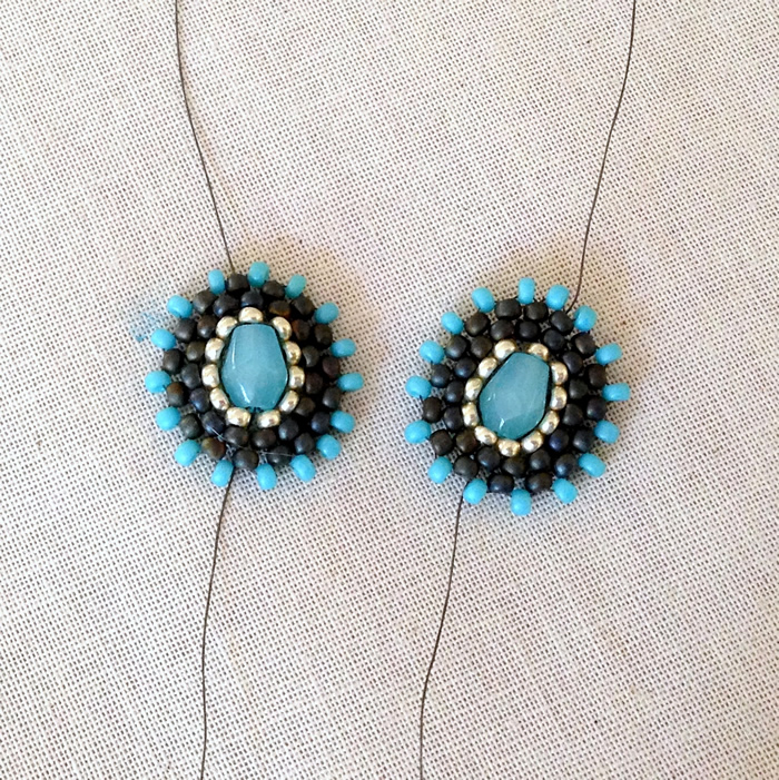 DIY Miguel Ases Style jewelry, earring components
