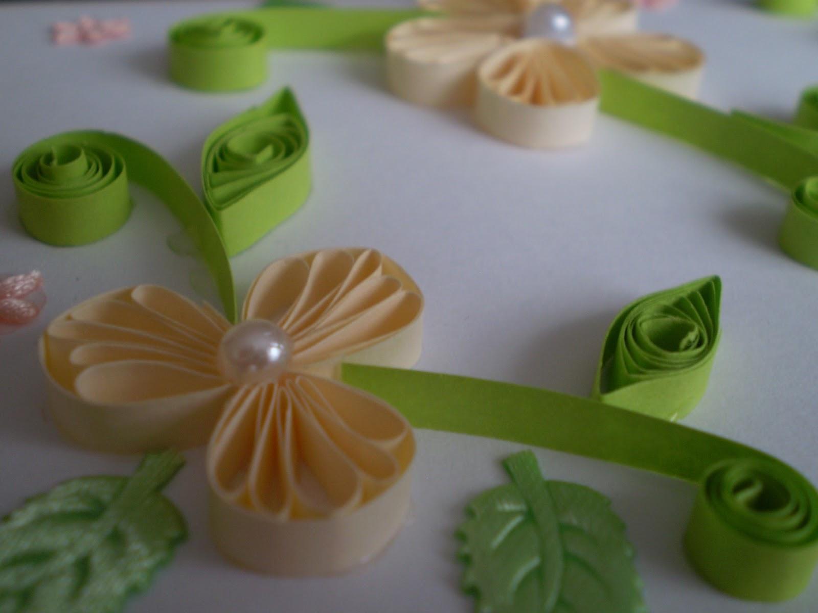 flower fleur pearl perle handmade arts crafts