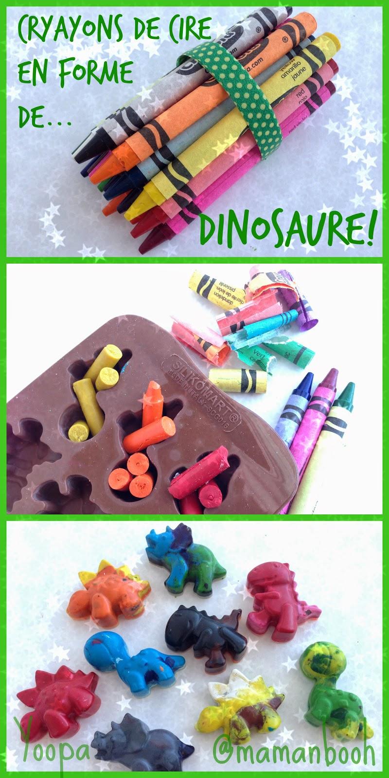 bricolage yoopa dinosaure Julie Philippon @mamanbooh