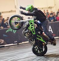 Stuntshow mit Chris Rid
