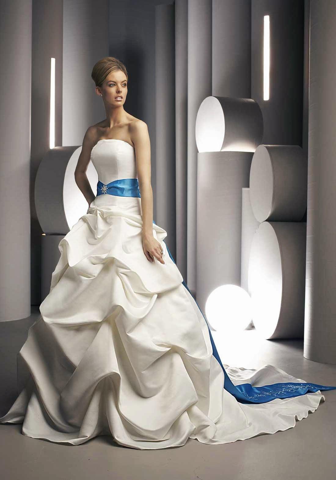 Colored Wedding Dresses 2013 Photos HD Concepts Ideas