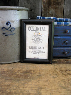 framed salt sack