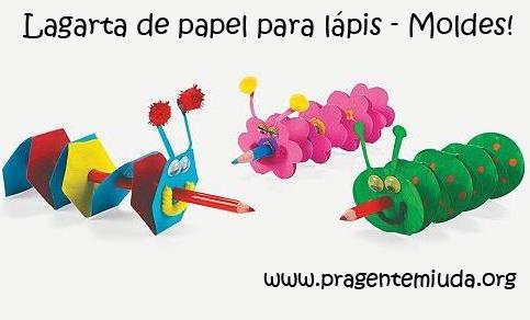 lembrancinha para primavera ponteiras para lápis com papel