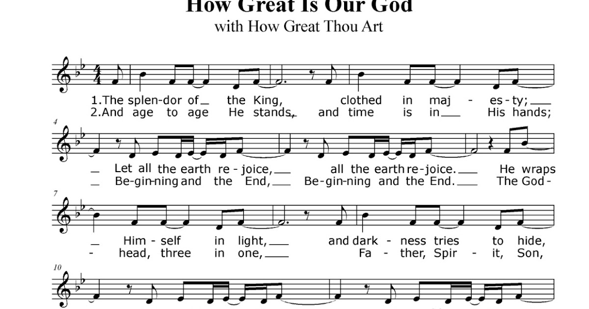 how great thou art lead sheet pdf